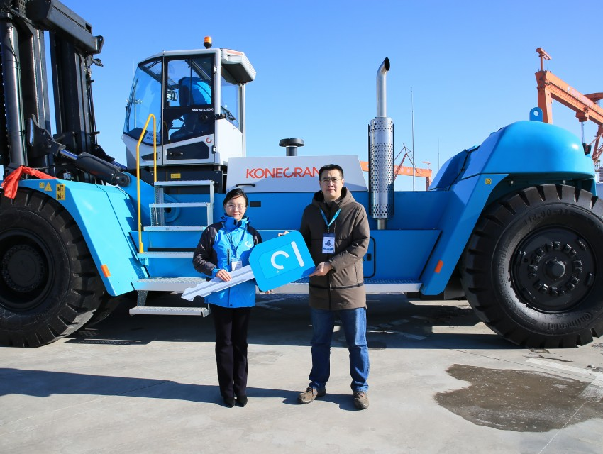 Konecranes supplies the biggest forklift ever in China_image